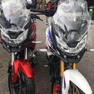 Honda CB190X CBF190X AKA Mini African Twin