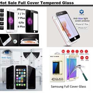 🚚 Buy 1 Get 1 FREE / iPhone / Samsung Tempered Glass Protector