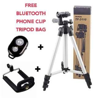 Camera/Phone/Video Tripod Stand Set INSTOCKS!