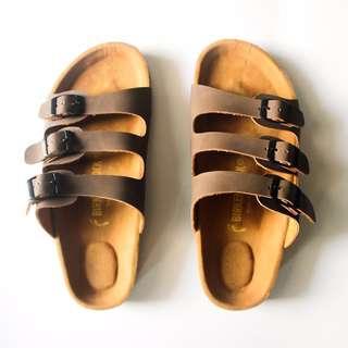 Sandal Birkenstock Florida Premium Brown Men