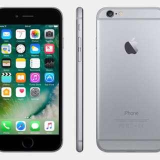 IPhone 6, 16GB space grey