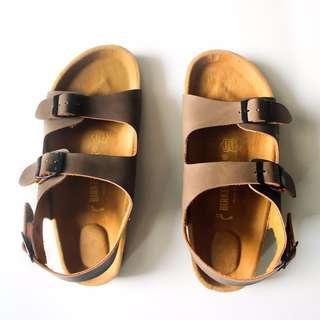 Sandal Birkenstock Milano Premium Brown Men