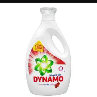 Dynamo Power Gel Detergent (Downy Passion) 2.7kg