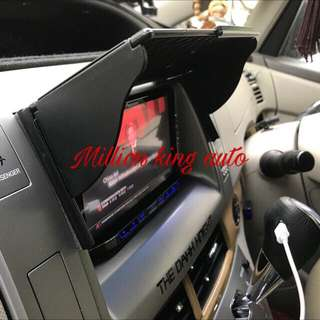 Audio Headunit/GPS Sun Visior