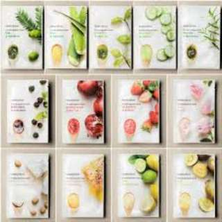 (10 sheet 10 kinds Mask) Innisfree It´s Real Squeeze Mask (100% Original)  Call / Whatapp 012-6232825