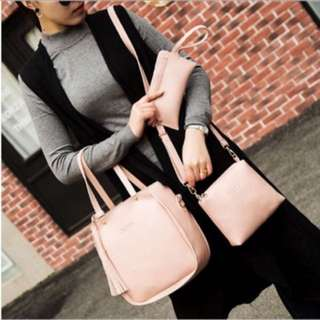 Three piece Korean Bag