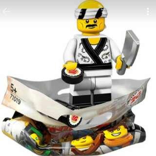 [FREE POS] Lego Mini Figures Ninjago Movie Sushi Chef #Take10Off