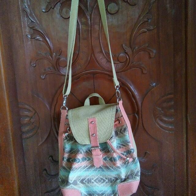 2 in 1 Bag (Sling or backpack)