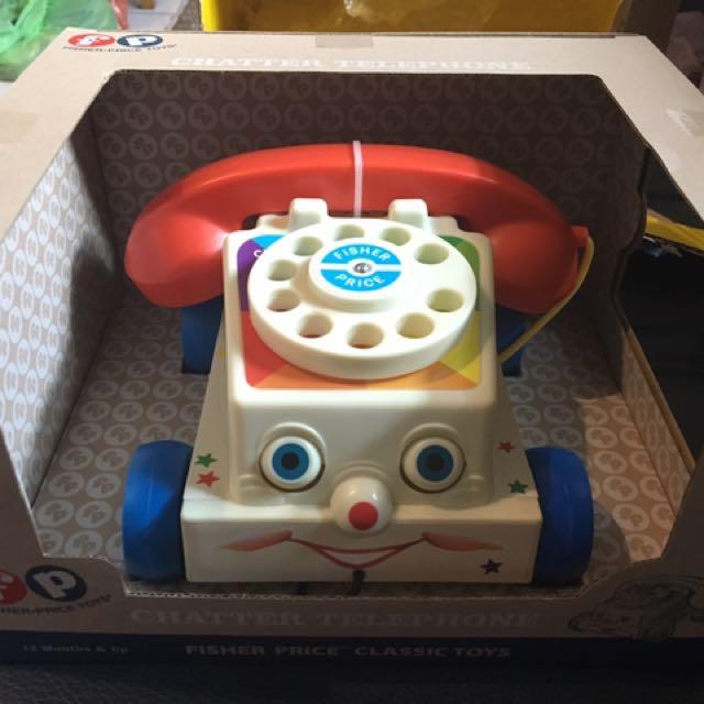 玩具總動員 費雪 電話☎️