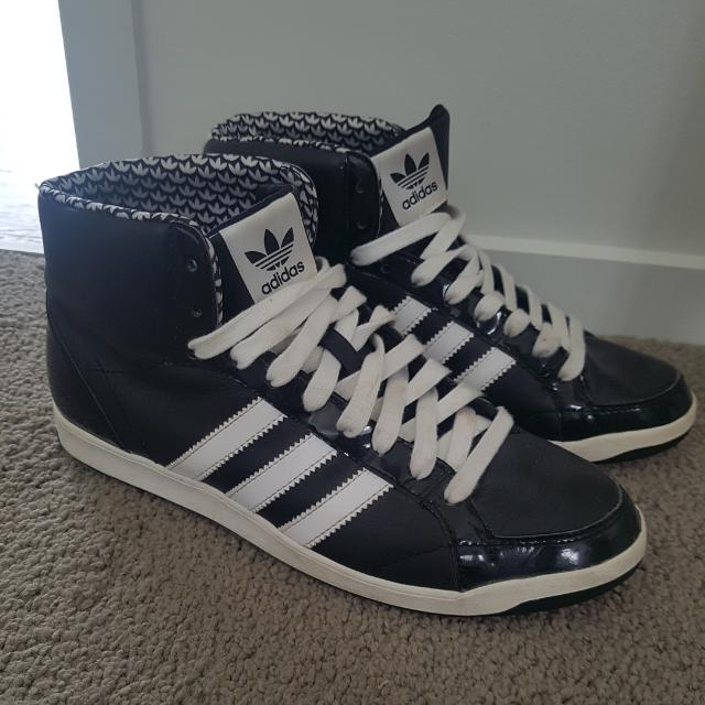 Adidas Black Sneakers Size US 7
