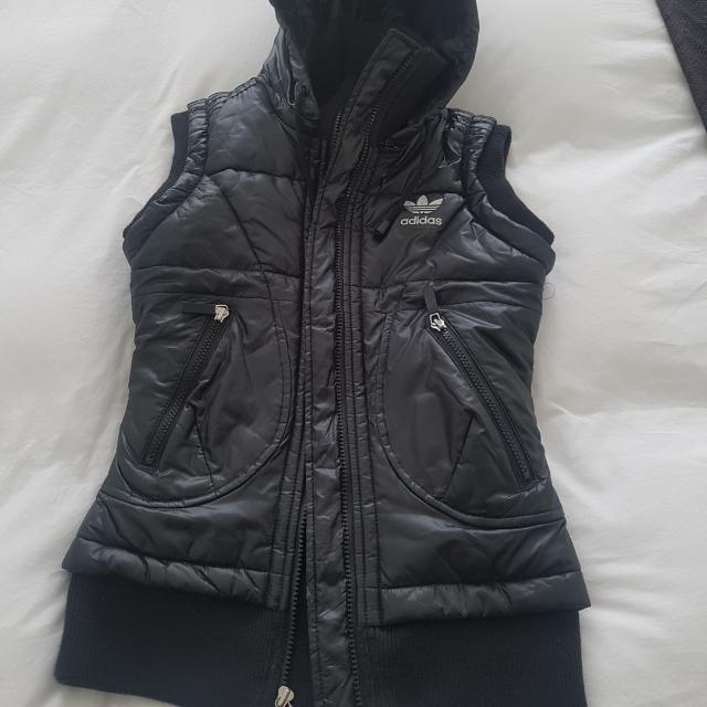 Adidas Black Sports Vest Size XS