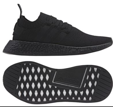 super popular bdace 1105b Adidas NMD R2 Triple Black, Men's Fashion, Footwear on Carousell