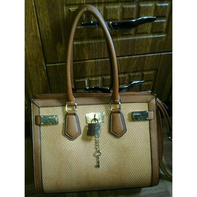 ALDO Office Bag In Tan