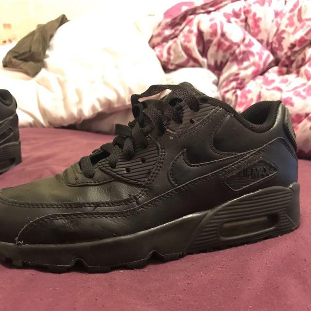 All Black Air Max 90