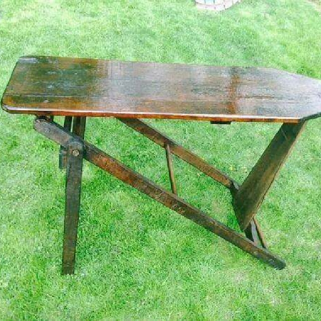 Antique Wooden Ironing Boards Vintage Collectibles On Carousell