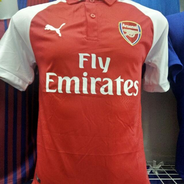 86353a905 Arsenal Jersey (HOME) 17 18 Kit