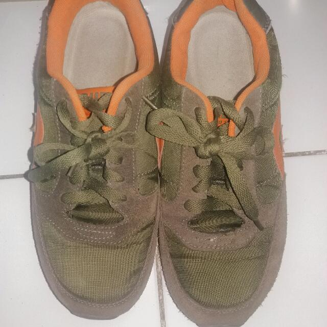 Auf 7.5 Army Green With Orange