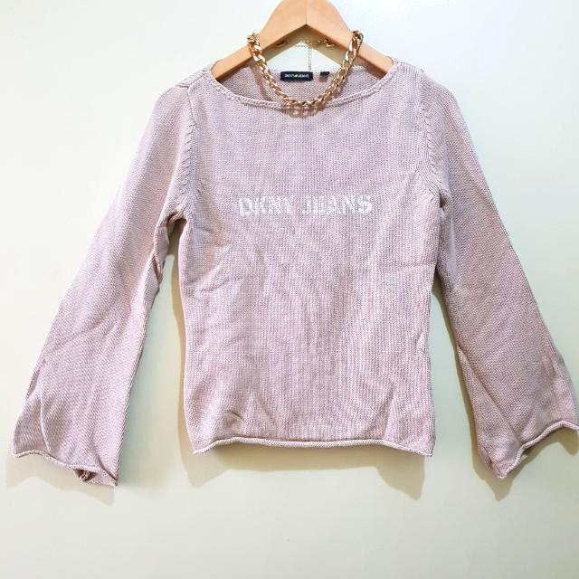 Authentic DKNY Cable Knit Sweater