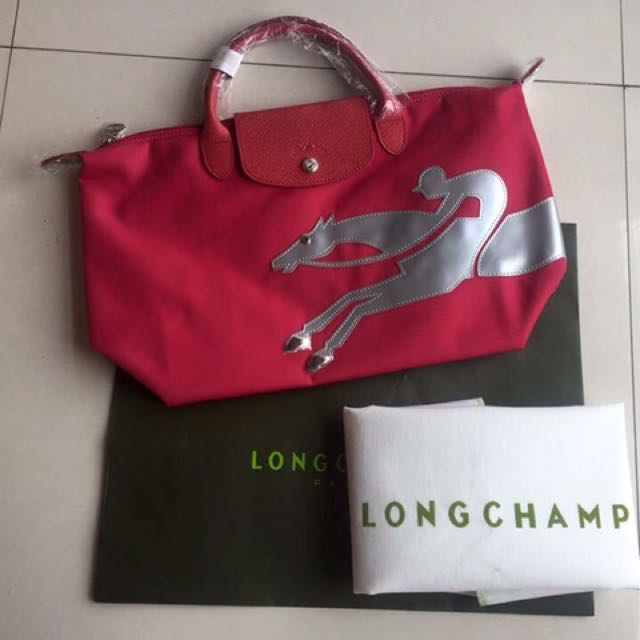 Authentic Long Champ Le Pliage Neo- Year Of The Horse
