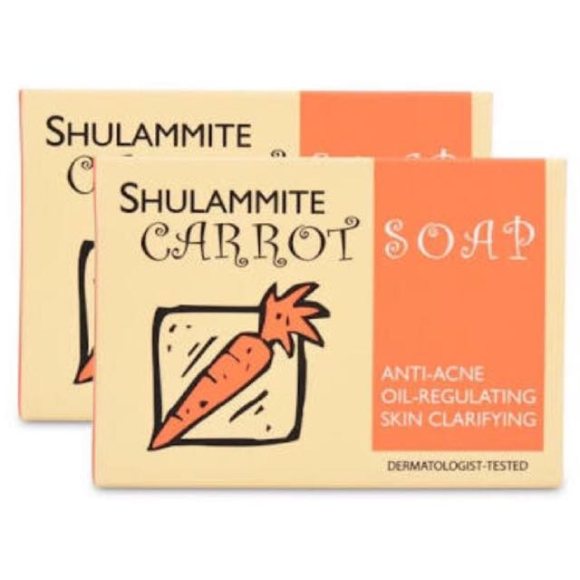 Authentic Shulammite Carrot Soap
