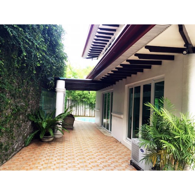 Ayala Alabang House And Lot For Rent / Lease (Semi Furnished)
