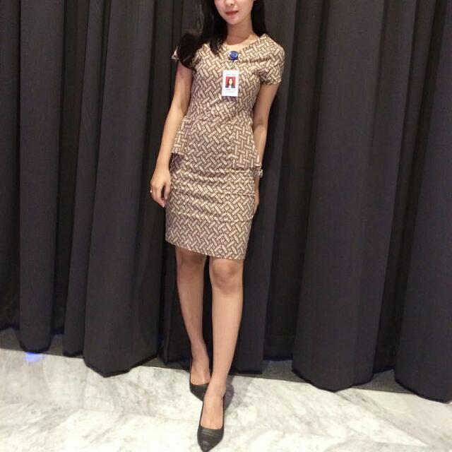 Batik Mini Dress