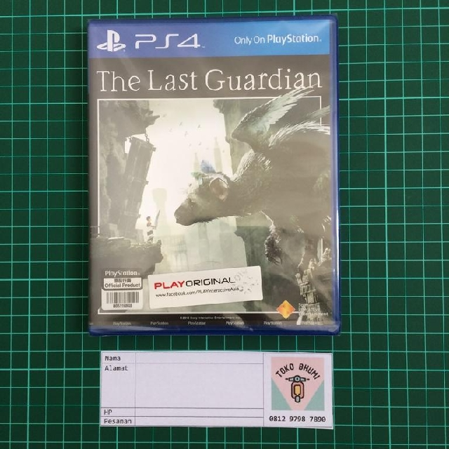 BD PS4 The Last Guardian
