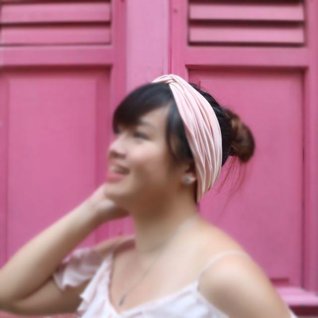 Bershka Knotted Headband