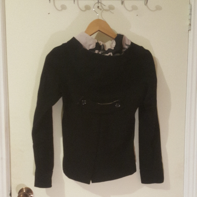 Black Coat Size 8