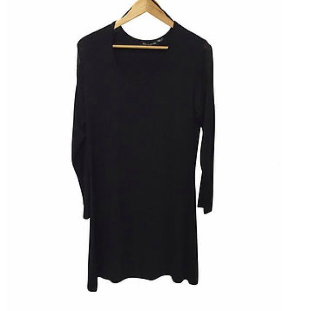 Black Midi Dress (10)