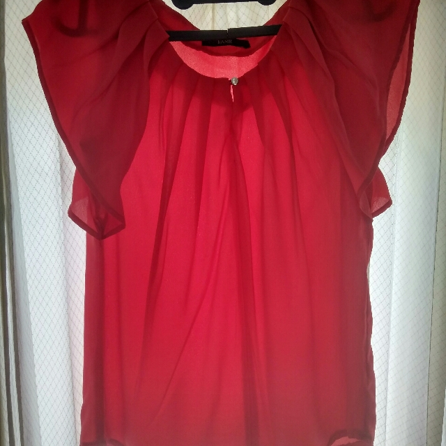 Blouse Red Fame