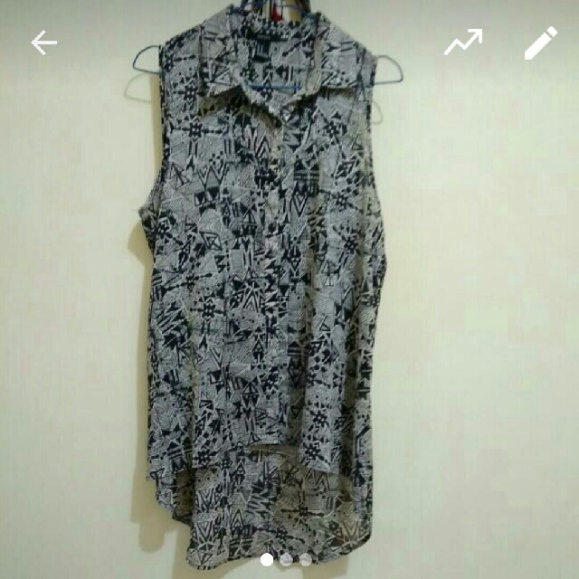 Blouse You Can See Forever 21