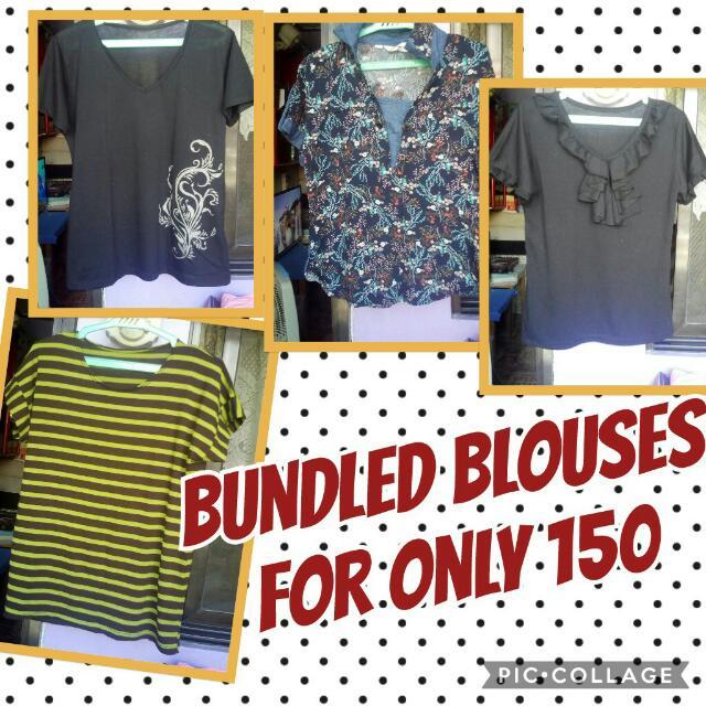 blouses bundled