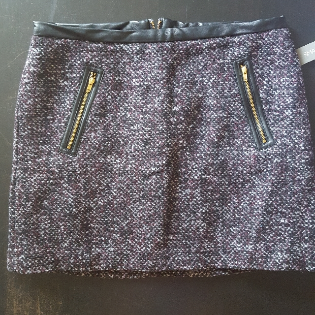 BNWT Smart Set Wool Skirt