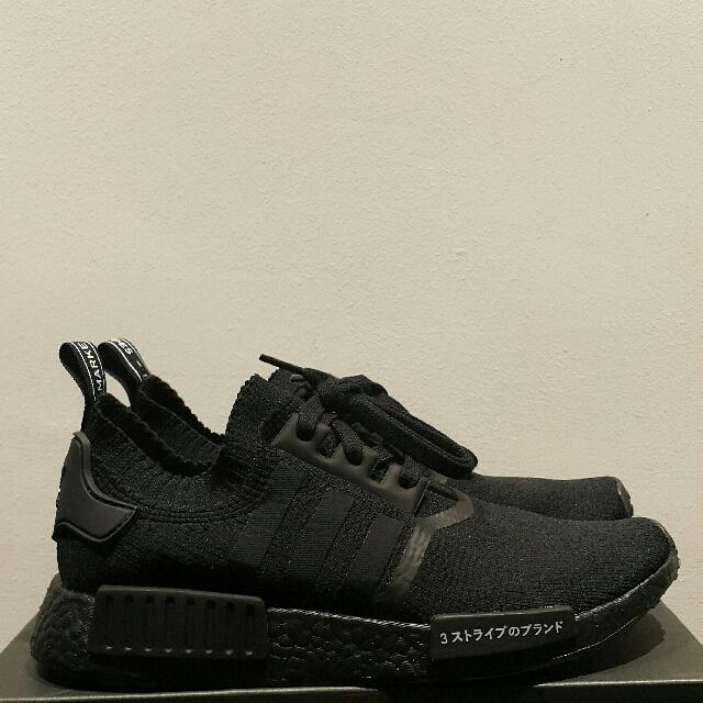 new products 80f22 c0009 Brand New Adidas NMD R1 PK Japan Triple Black BZ0220, Men's ...