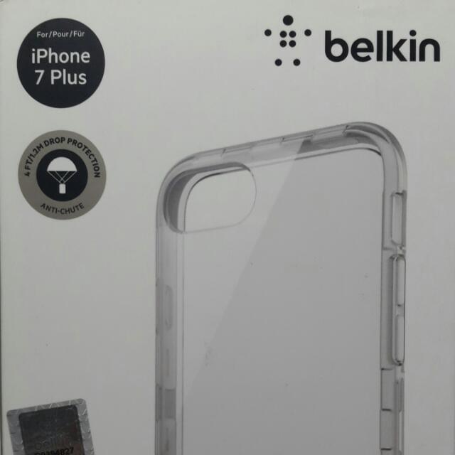 ORIG Belkin iPhone7 Plus Case Air Protect SheerForce Pro Case from Korea