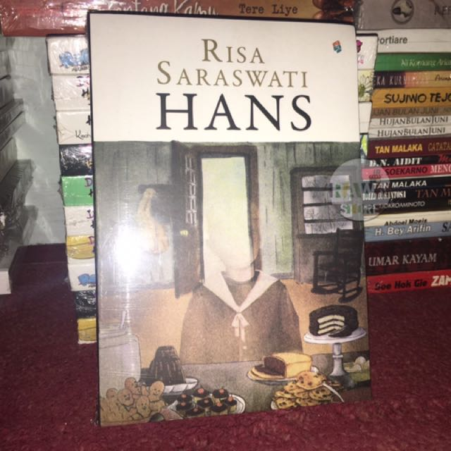 Buku Novel HANS by Risa Saraswati, Books & Stationery, Books on Carousell