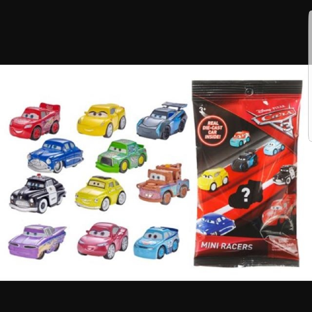 Cars 3 Mini Diecast Racer Lighting Mac Queen O1 Misp