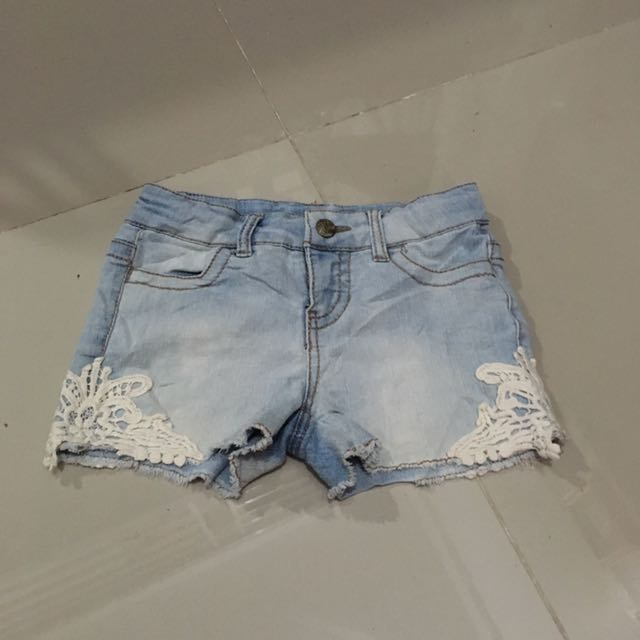 Cherokee Maong Shorts With Cute Side Details