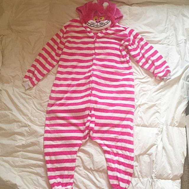 Cheshire Cat Onesie Costume/Pyjama (Medium)