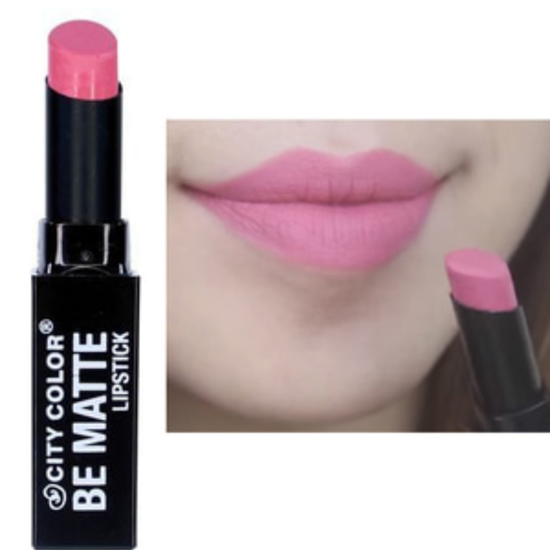 City Color Be Matte Lipstick Valerie Health Beauty Makeup On Puff Bedak Pl 12 Isi 2pcs Carousell