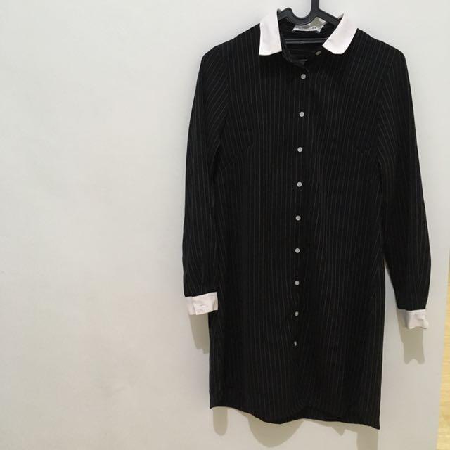 Cottonink Stripes Shirtdress