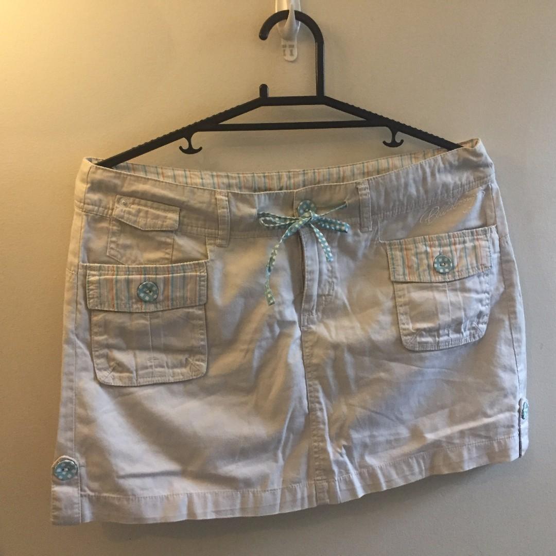 Cream Billabong Skirt Size 10