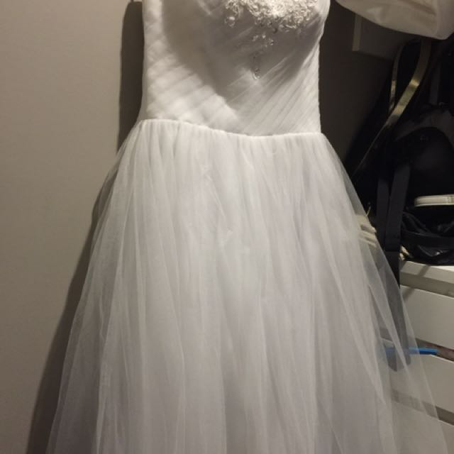 Deb or wedding dress