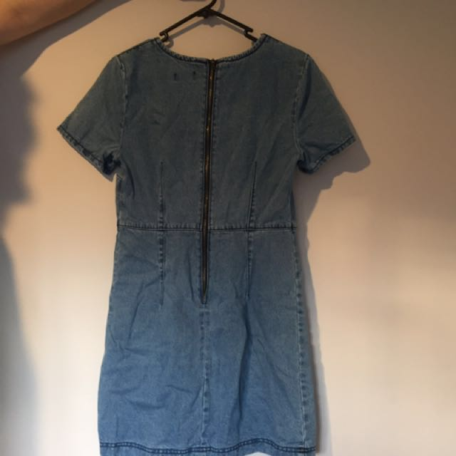 Denim Dotti Dress