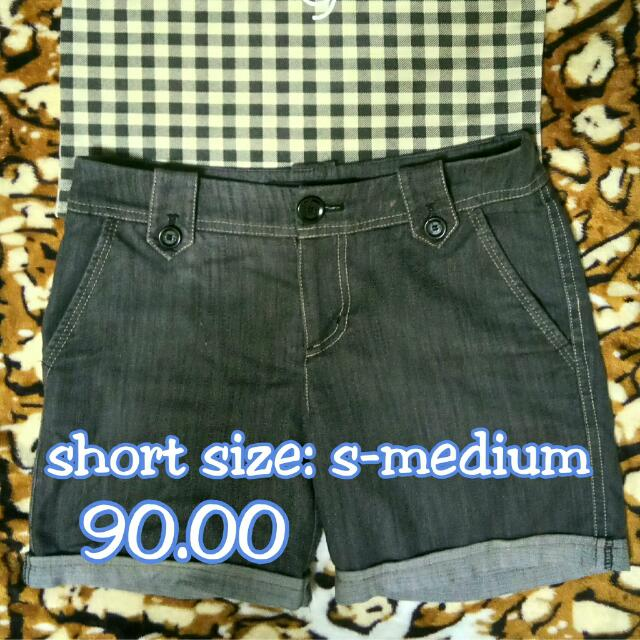Denim Short
