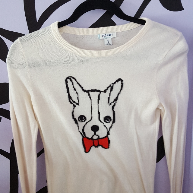 Dog Bowtie Sweater - Old Navy