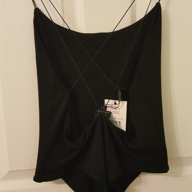 Exposed Back Bodysuit