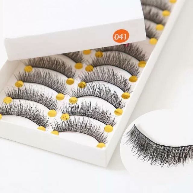 Eyelashes 10 Pairs Per Box New From Supplier
