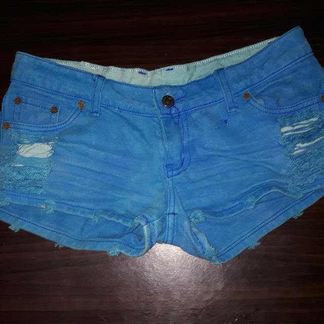 Faded Blue Shorts